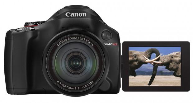 Canoni uus PowerShot SX40 HS