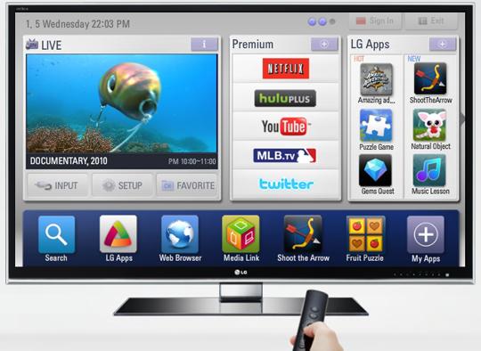 LG täiendas Smart TV rakenduste valikut