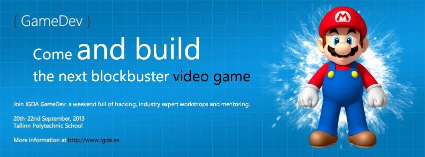 IGDA arvutimängude Hackathon Tallinnas