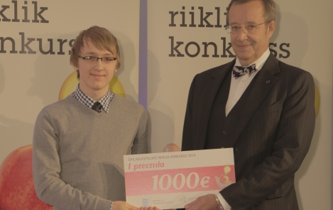 President Ilves tervitas parimaid õpilasleiutajaid