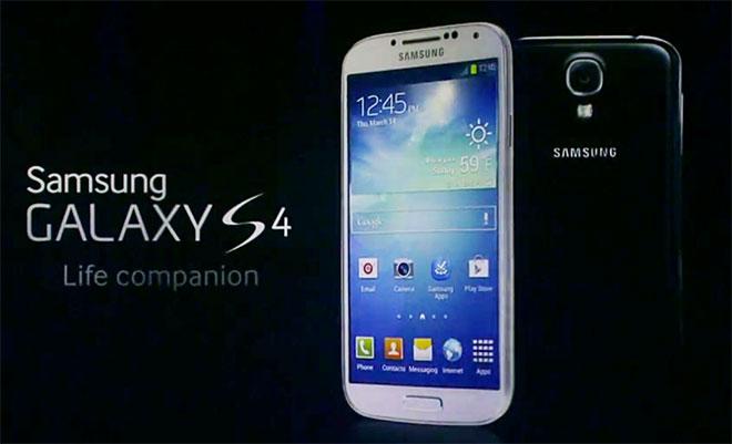 Samsung Galaxy S4 jõuab Eestisse aprillis