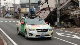 Google lisas uued Google Street View pildid Fukushima keelutsooni aladest