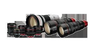 Canon tegeleb 35 mm fikseeritud fookuskaugusega kinofilmiobjektiivi arendusega