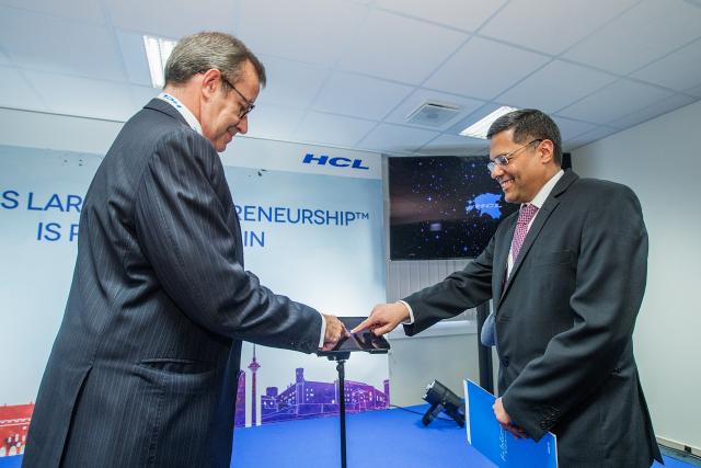 HCL Technologies Opening Event in Tallinn, Estonia 20151203  Credits:  Joosep Martinson/www.joosepmartinson.com