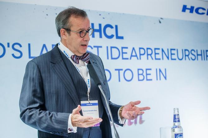 President Ilves avas globaalse IT-ettevõtte HCL Technologies Tallinna arenduskeskuse