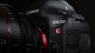 Canon täiendab oma EOS-kinofilmisüsteemi uue 4K videohõivet toetava digipeegelkaameraga EOS-1D C