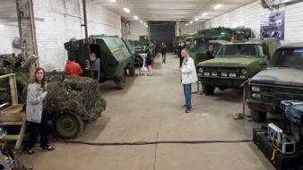 Sõjamuuseum näitab rasketehnikat