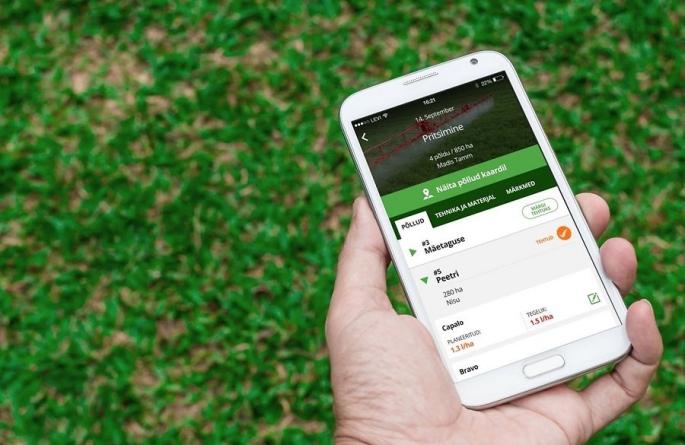 Põllumajandusäpi loonud idufirma VitalFields kaasas SmartCapi ja teiste investorite toel 1,1 miljonit eurot