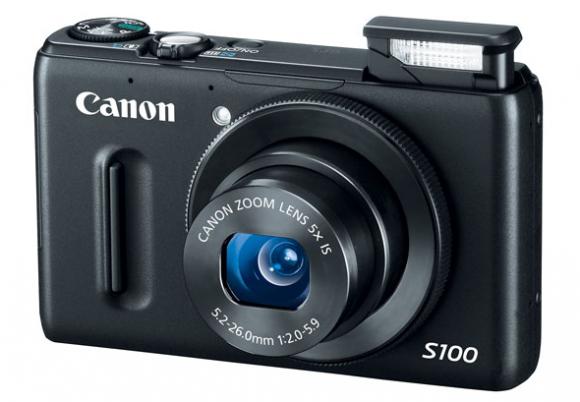 Canoni uus digikaamera PowerShot S100