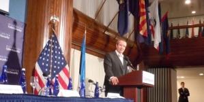 President Ilves kõneles Budapesti küberkonverentsil