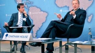 President Ilves rääkis Chatham House'is küberruumi väljakutsetest