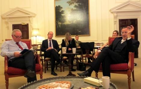 Eesti riigipea ja Briti IT-minister arutasid piiriüleste teenuste tulevikku