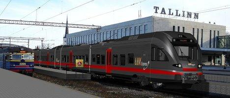 Sebe soovib avada Tallinn – Peterburi rongiliini