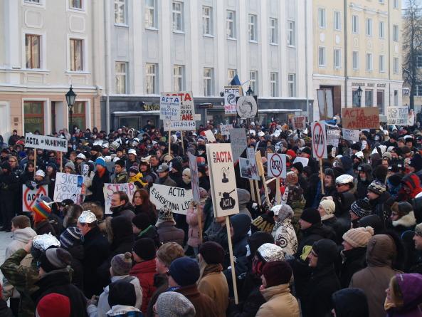 ACTA-vastased koolitavad ametiühingu liikmeid