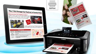 Canon'i PIXMA printeritel on nüüd juhtmevaba printimise tugi iPad'ile, iPhone'ile ja iPod touch'ile