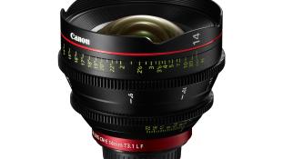 Canon laiendab EOS-kinofilmisüsteemi lainurk- ja telefoto kinofilmiobjektiividega