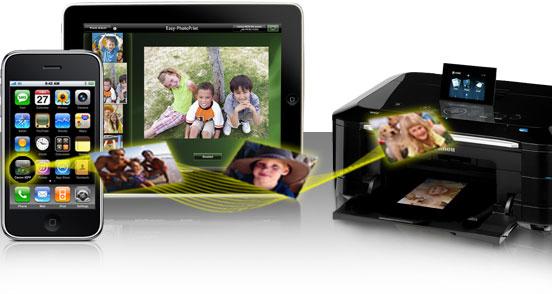 Canoni Easy Photo Print rakendus: Prindi oma faile nutitelefonist või tahvelarvutist