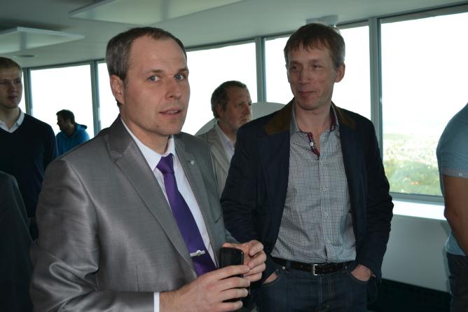 EMT tutvustas Teletornis  4G Mobiil-TV pilootprojekti