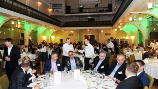"""3. oktoobril toimus Riias Balti ja Malta finantssektori juhtide kohtumine """"Exante Business Evening"""""""