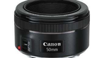Canon tutvustas uut objektiivi EF 50mm f/1.8 STM