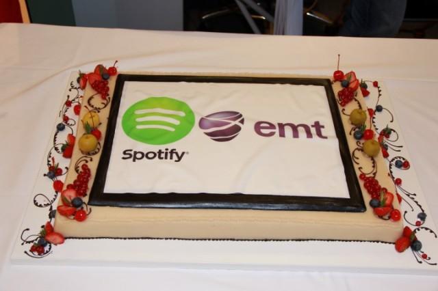 EMT ja Spotify