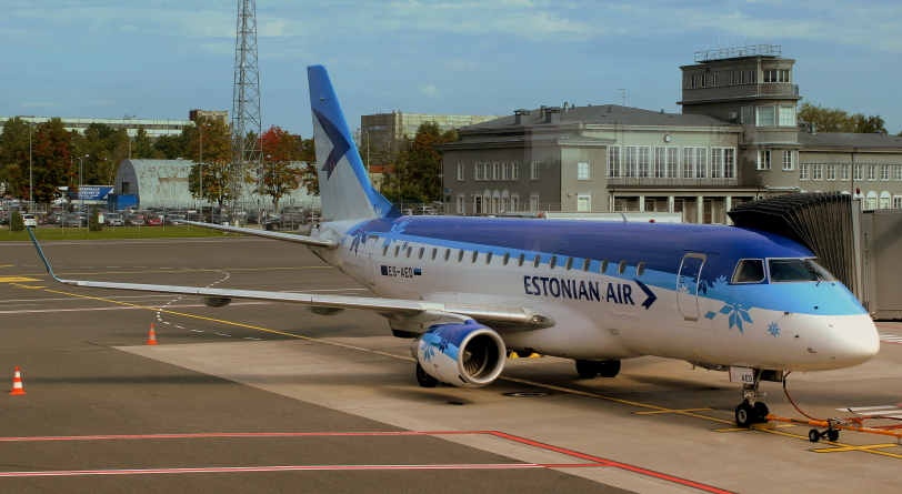 Estonian Airi lennuki erakorraline maandumine Tallinna lennuväljal toimus ohutult