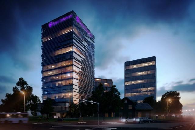 Eesti-Telekomi-uus-hoone-Mustamäe-tee-alguses