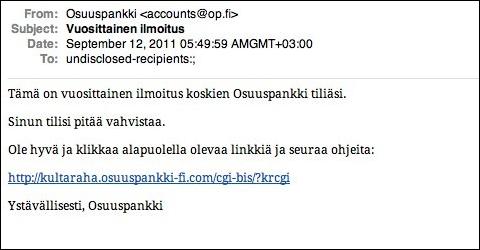 Soome pangaliiklus petturite ründe all