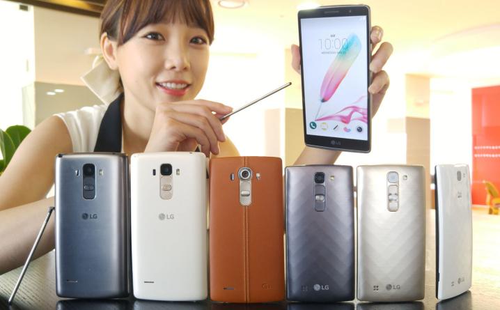 LG tutvustab G4 seeria uusi nutitelefone G4 Stylus ja G4c
