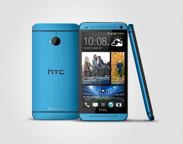 HTC One Vivid Blue_3V