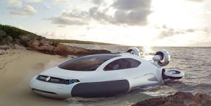 VW Aqua Hovercraft kontsept