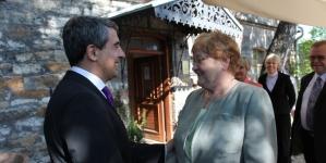 Pildid: Ergma kutsus Bulgaariat üles tegema küberkaitses tihedat koostööd