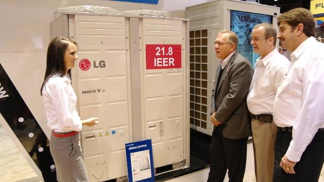 LGlt uus keskkonnasõbralik kliimaseade Multi V III