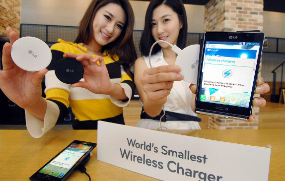 LG tutvustas maailma väikseimat juhtmevaba laadijat