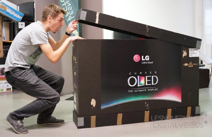 LG nõgus OLED teler on nüüd ka Eesti turul saadaval