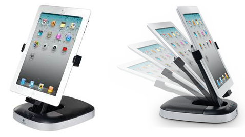 Piltidel: Logitech Speaker Stand for iPad (allikas: Logitech)