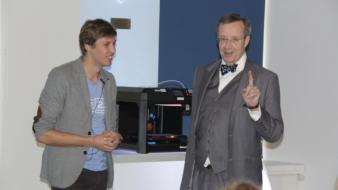 Hardi Meybaum toob Eesti koolidesse 3D-printerid