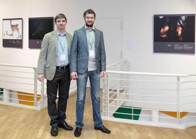 Fotol Mati Kose ja Remo Savisaar Saksamaal Lüngenis toimunud festivalil.