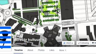 """""""Mereäär kultuurile"""" Facebook'i leht kogus ühe päevaga üle 1000 järgija."""