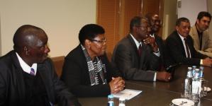 Namiibia parlamendi delegatsioon tutvub e-Eestiga