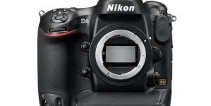 Nikon esitles D4 peegelkaamerat