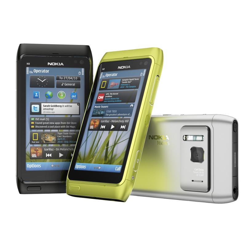 Ülevaade: Nokia N8
