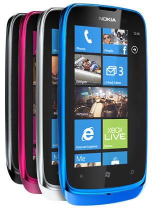 Nokia Lumia 610 toob hinna alla Windows Phone'l