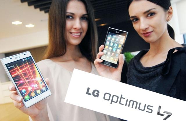 Uudse disainiga LG Optimus L7 nüüd ka Eestis