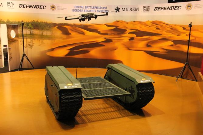 Eesti kaitsetööstuse targad lahendused vähendavad inimeste arvu lahinguväljal