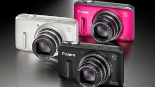 Canon tutvustas uusi kaameramudeleid PowerShot SX260 HS ja PowerShot SX240 HS