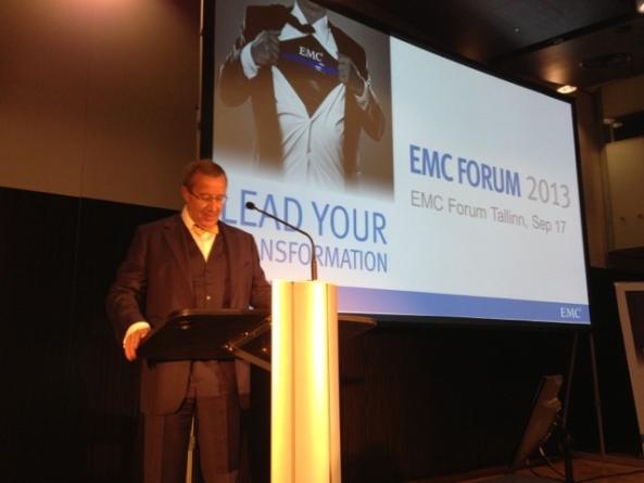 President Toomas Hendrik Ilves EMC IT-foorumil: Euroopas ei ole täna veel toimivat digitaalset ühisturgu
