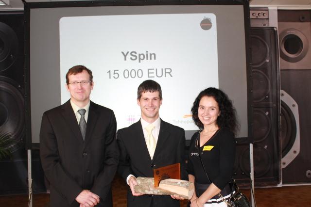 Rahastatud meeskond YSpin