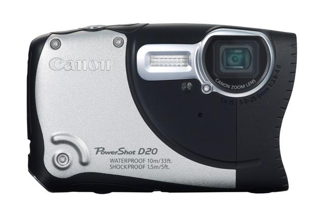 Canon tutvustas seiklusteks loodud PowerShot D20 kaamerat