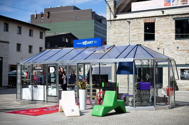 Samsungi Smart House tutvustab tehnoloogia ja disaini tulevikutrendismart for test 2012